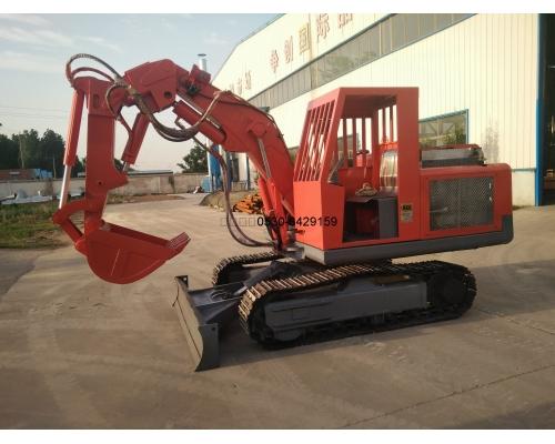 防爆柴油挖掘机排气系统应用案例